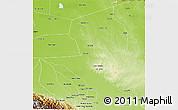 Physical 3D Map of Nuflo de Chavez