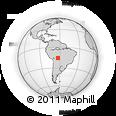 Outline Map of Nuflo De Chavez