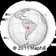 Outline Map of Warnes