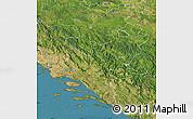 Satellite Map of Federacija Bosne i Hercegovine