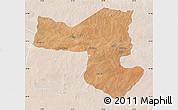 Satellite Map of SelebiPhikwe