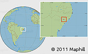 Savanna Style Location Map of Belo Monte