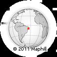 Outline Map of Boca De Mata