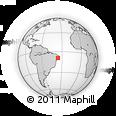 Outline Map of Branquinha