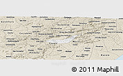Classic Style Panoramic Map of Branquinha