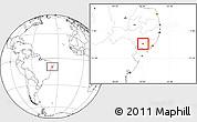 Blank Location Map of Cacimbinhas