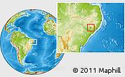 Physical Location Map of Cacimbinhas
