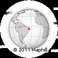 Outline Map of Cacimbinhas