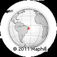 Outline Map of Girau Do Poncian