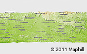 Physical Panoramic Map of Igaci