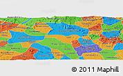 Political Panoramic Map of Igaci