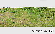 Satellite Panoramic Map of Igaci