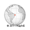 Outline Map of Maravilha