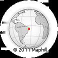 Outline Map of Marimbondo