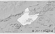 Gray 3D Map of Mata Grande