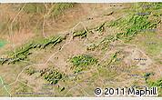 Satellite 3D Map of Mata Grande