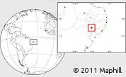 Blank Location Map of Mata Grande