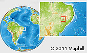 Physical Location Map of Mata Grande