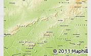 Physical Map of Mata Grande