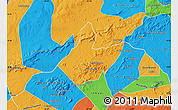 Political Map of Mata Grande