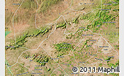Satellite Map of Mata Grande