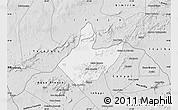 Silver Style Map of Mata Grande