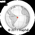 Outline Map of Mata Grande