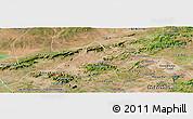 Satellite Panoramic Map of Mata Grande