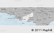 Gray Panoramic Map of Porto Real do C.