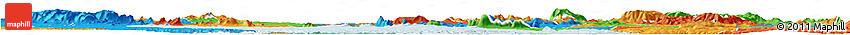 Political Horizon Map of S Jose Da Tapera