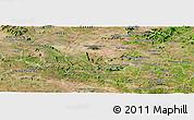 Satellite Panoramic Map of S Jose da Tapera