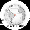Outline Map of Santana D Mundau