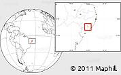 Blank Location Map of Taquarana