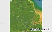 Satellite 3D Map of Amapa