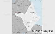 Gray Map of Amapa