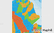 Political Map of Amapa