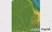 Satellite Map of Amapa