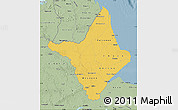 Savanna Style Map of Amapa