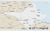Classic Style Panoramic Map of Amapa
