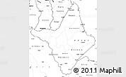 Blank Simple Map of Amapa
