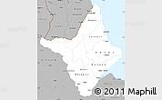Gray Simple Map of Amapa