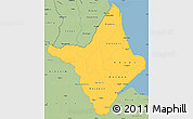 Savanna Style Simple Map of Amapa