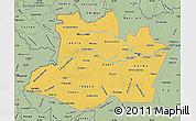 Savanna Style Map of Amazonas