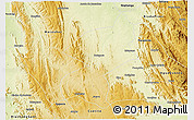 Physical 3D Map of Botupora