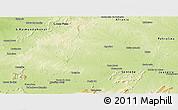 Physical Panoramic Map of Casa Nova