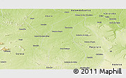 Physical Panoramic Map of Chorrocho