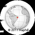 Outline Map of Jeremoabo