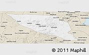 Classic Style Panoramic Map of Jeremoabo