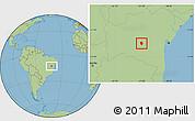 Savanna Style Location Map of Piata