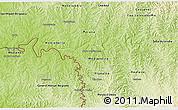 Physical 3D Map of Capanema